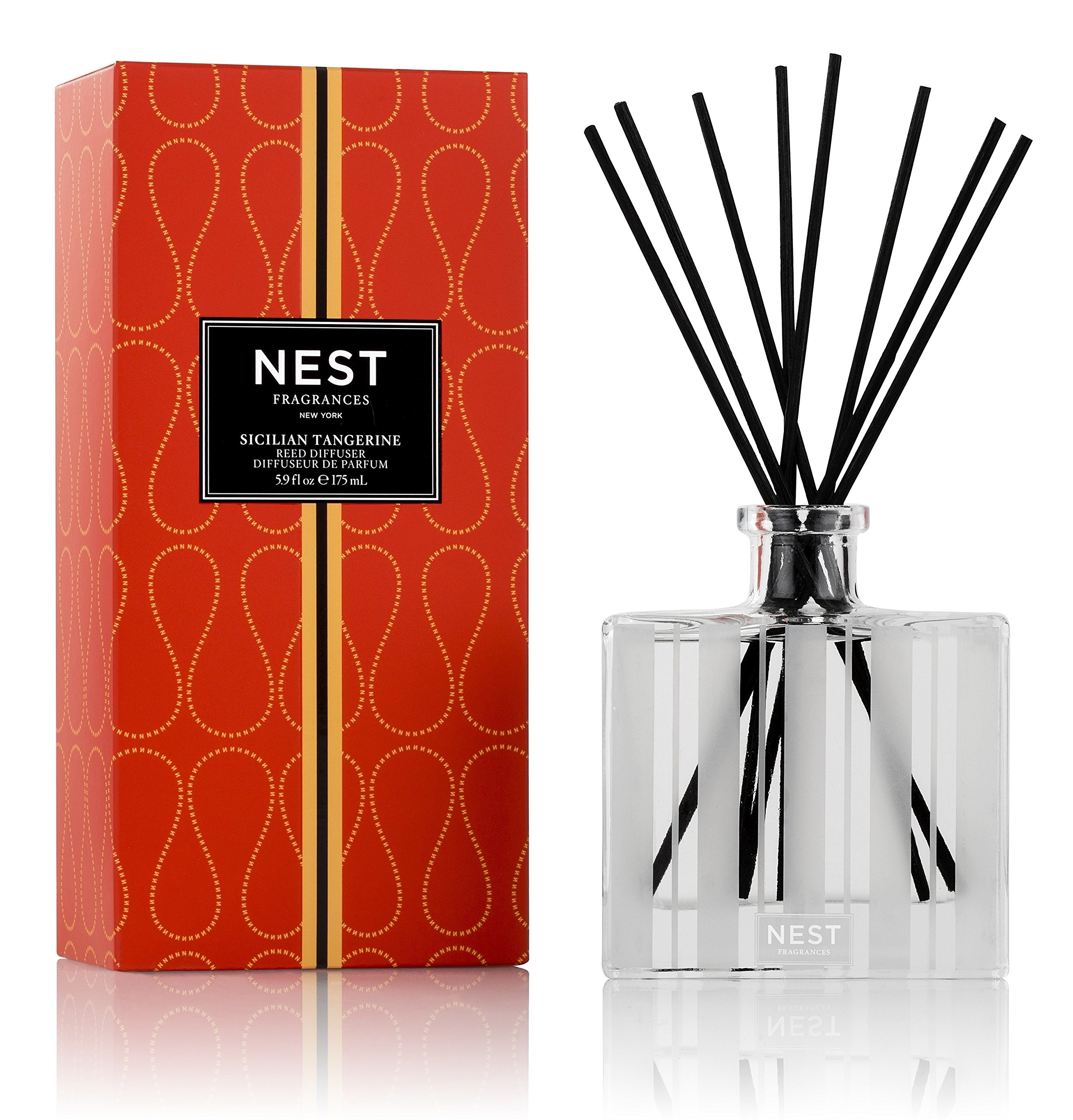 NEST Fragrances Reed Diffuser- Sicilian Tangerine , 5.9 fl oz
