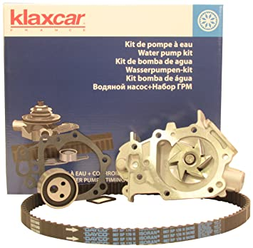 Klaxcar 40510Z - Kit Distribución Con Bomba De Agua: Amazon ...
