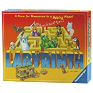 Ravensburger Labyrinth Board Game for Kids and Adults - Easy to Learn and Play With Great Replay Value