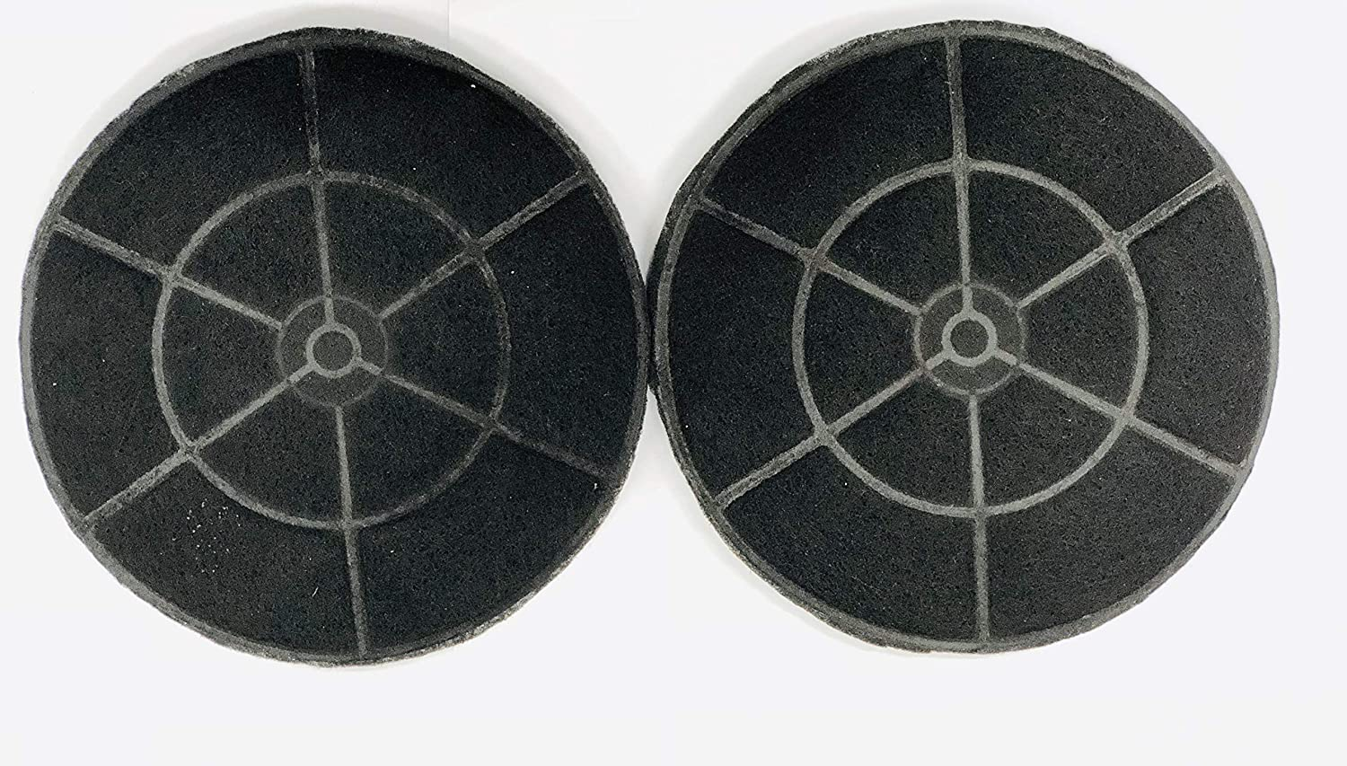 Winflo Carbon/Charcoal Filters (set of 2) for Ductless/Non-Ducted Application Easy Installation and Replacement for Winflo Range Hoods