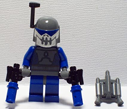 JANGO FETT Custom Printed /& Inspired Lego Star Wars Minifigure