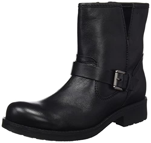 Geox D New Virna E, Botas Biker Para Mujer, Grau (ANTHRACITEC9004), 40 EU amazon-shoes el-negro