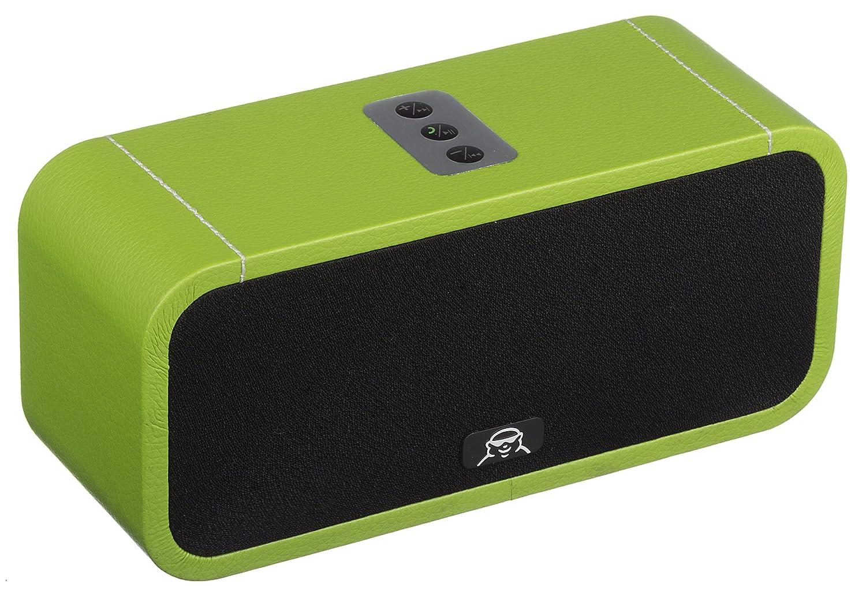 スマートフォン、iPodおよびiPadと互換性があるFatmanのオルゴール1つの携帯用無線ブルートゥースのスピーカー 緑 - 緑 B00ITOV69I, ヒロネットショップ:2bd3b883 --- sharoshka.org