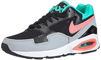 new arrival 9b36c 02101 Nike Air Max ST, Damen Sneakers,Schwarz (Black Hot Lava-Menta