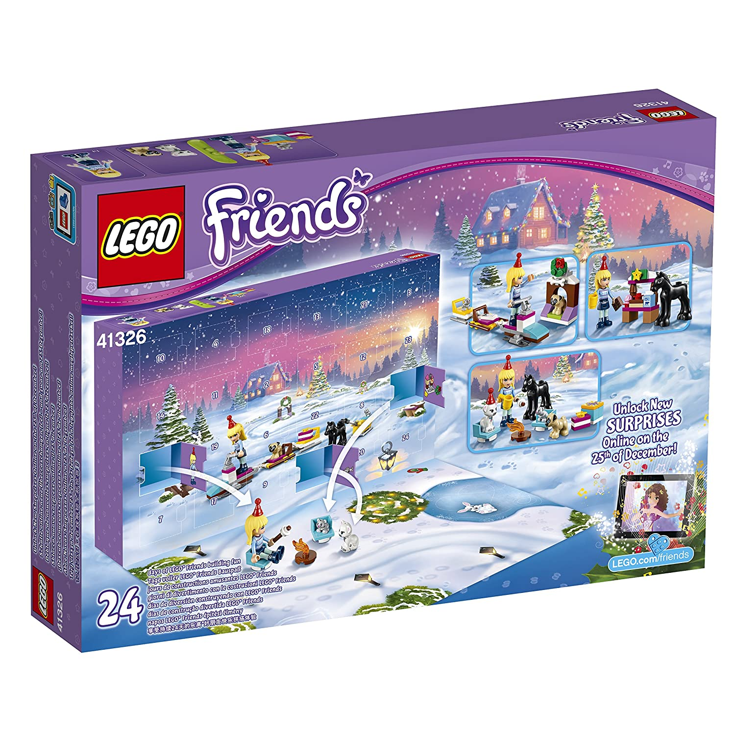 Weihnachtskalender Lego Friends.Lego Friends 41326 Adventskalender
