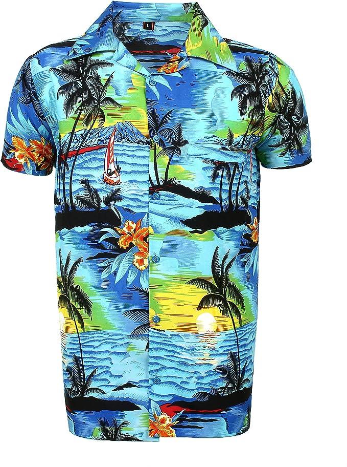 SAITARK - Camisa Casual - para Hombre B BPN Medium: Amazon.es: Ropa y accesorios