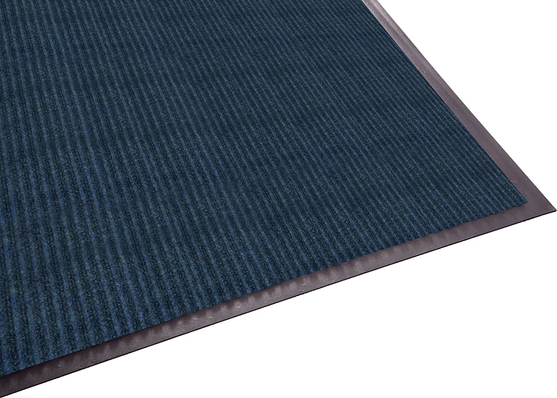 Guardian Golden Series Dual-Rib Indoor Wiper Floor Mat 3x4 Grey Vinyl//Polypropylene