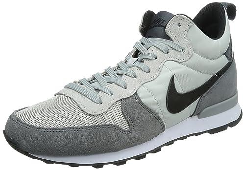 Nike Internationalist Mid - Zapatillas para Hombre, Color Grau (lght Ash Grey/blk-drk gry-slvr), Talla 47: Amazon.es: Zapatos y complementos