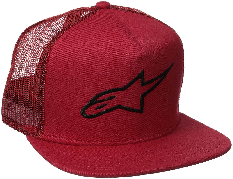 ALPINESTARS Men's Corp Trucker Hat Black OS Alpinestars Young Men' s 1025-81003