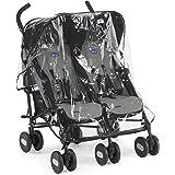 Chicco Echo Twin Stroller Coal - Black