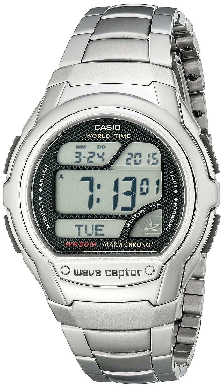 Casio WV58DA-1AV - Reloj (Reloj de pulsera, Masculino, Metal, Plata, Metal, Plata): Amazon.es: Relojes