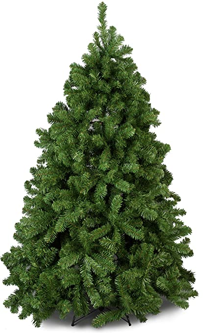 Artificial Christmas Trees Uk.Green Canadian Pine Luxury Artificial Christmas Tree 6 5 Ft Tall 195cm Nearly 4ft Wide Modern Stylish Contemporary Quality Xmas Trees