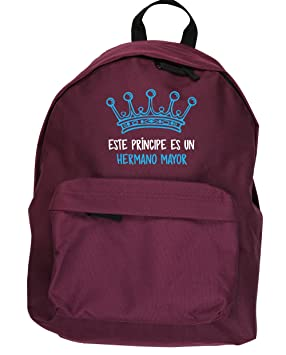 HippoWarehouse Este Príncipe es un Hermano Mayor kit mochila Dimensiones: 31 x 42 x 21 cm Capacidad: 18 litros: Amazon.es: Equipaje