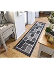 Lord of Rugs - Modern Decorative Contemporary Design Grey Beige Rug and Runner Hand Tufted