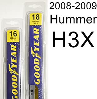 "product image for Hummer H3X (2008-2009) Wiper Blade Kit - Set Includes 18"" (Driver Side), 16"" (Passenger Side) (2 Blades Total)"