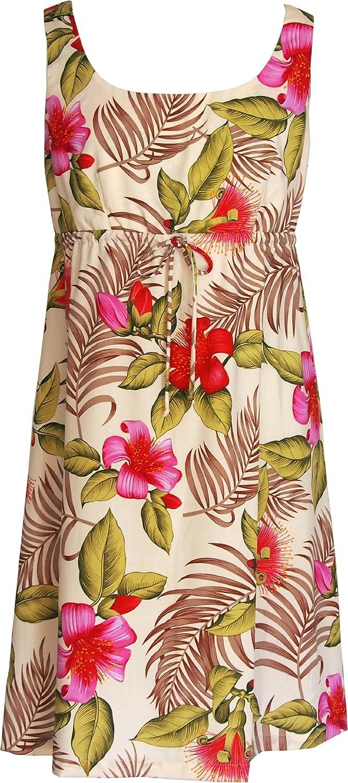 RJC Women's Pistil Flower Bud Empire Tie Front Dress