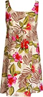 RJC Womens Pistil Flower Bud Empire Tie Front Short Tank Dress