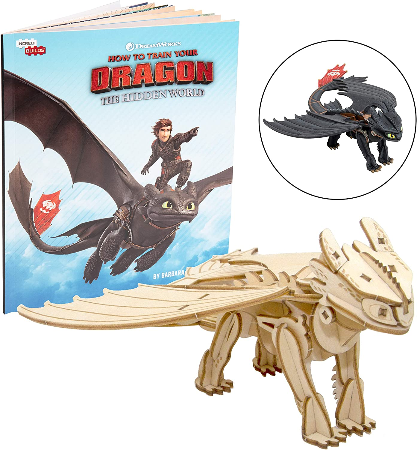 DREAMWORKS HOW TO TRAIN YOUR DRAGON 3 THE HIDDEN WORLD TOOTHLESS NEW FAST SHIP