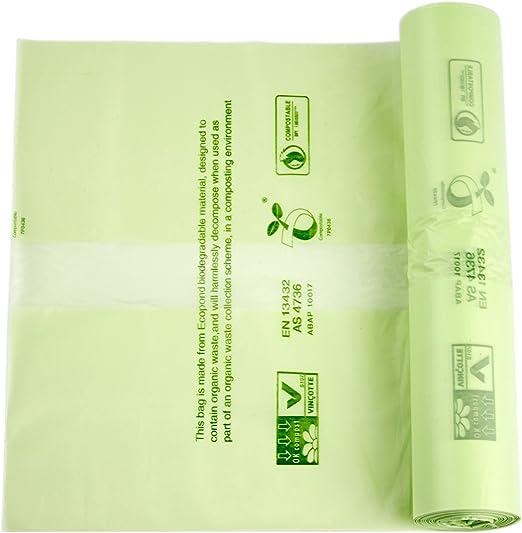 Alina -Bolsas de basura compostables para alimentos y residuos ...