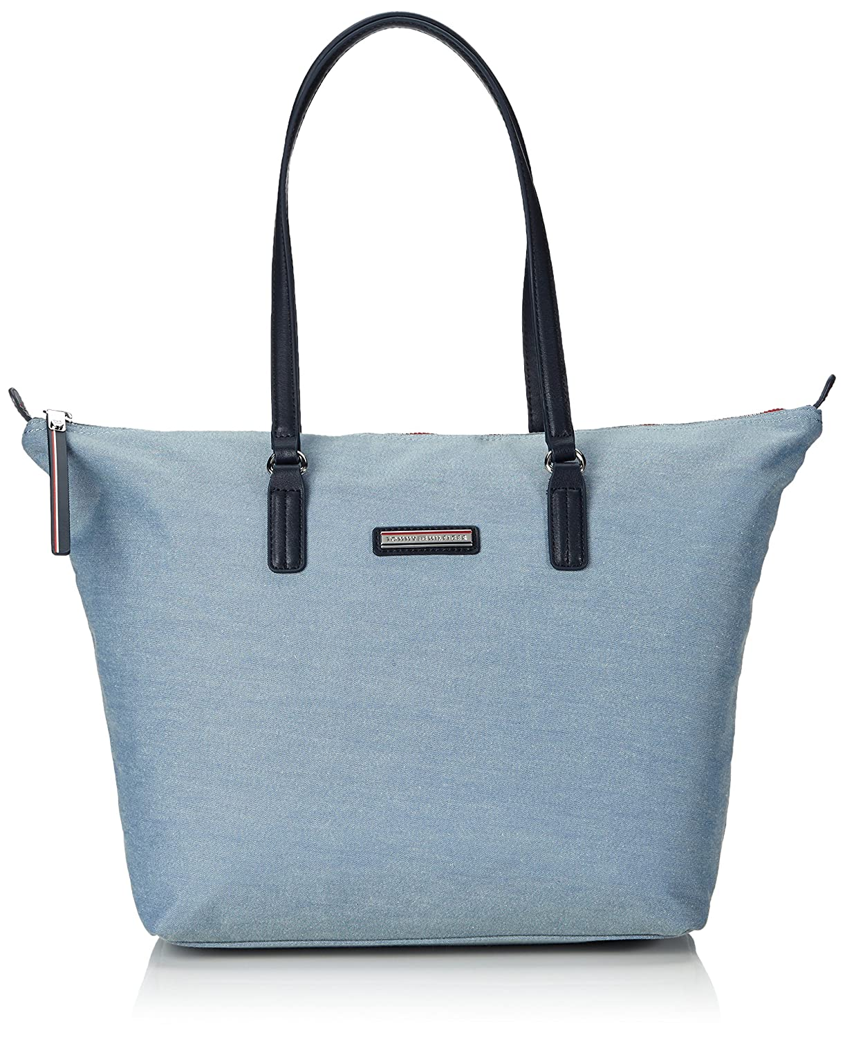 Tommy Hilfiger Poppy Tote Chambray , Bolso para mujer, color chambray midnight, talla OS Amazon.es Zapatos y complementos