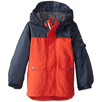 Osh Kosh Little Boys' Midweight Ripstop Hooded Jacket
