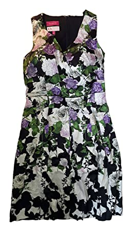 53e761e8a32 Image Unavailable. Image not available for. Color  Talbots Floral Dress 8