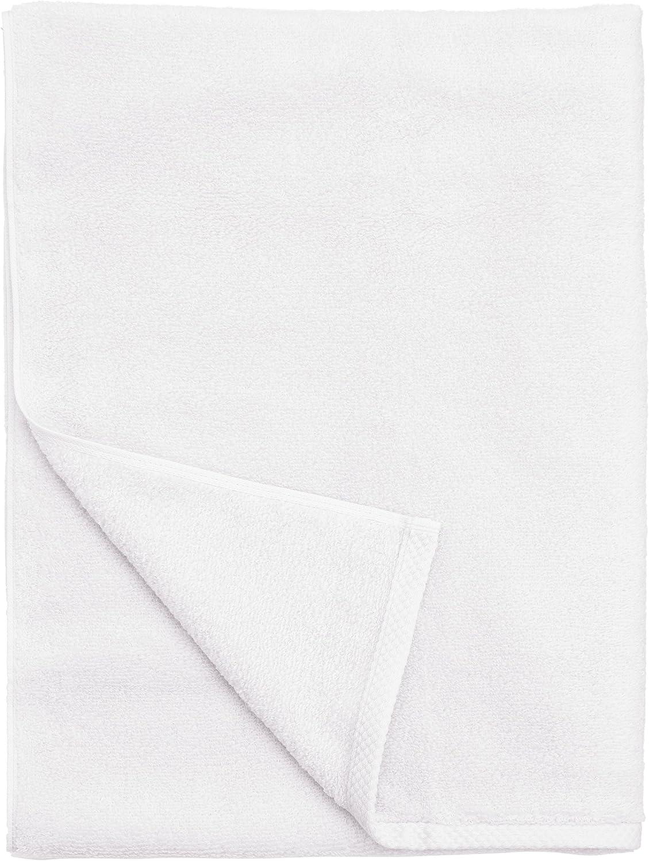 41 x 76/cm Pack de 4 Toalla de Manos de Microfibra superabsorbente antipelusa Polyte Secado r/ápido Blanco