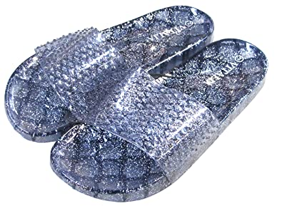 e9019814362d New Jelly Women s Clear Jelly Flat Sandals Shoes Size 5-11 US (7B