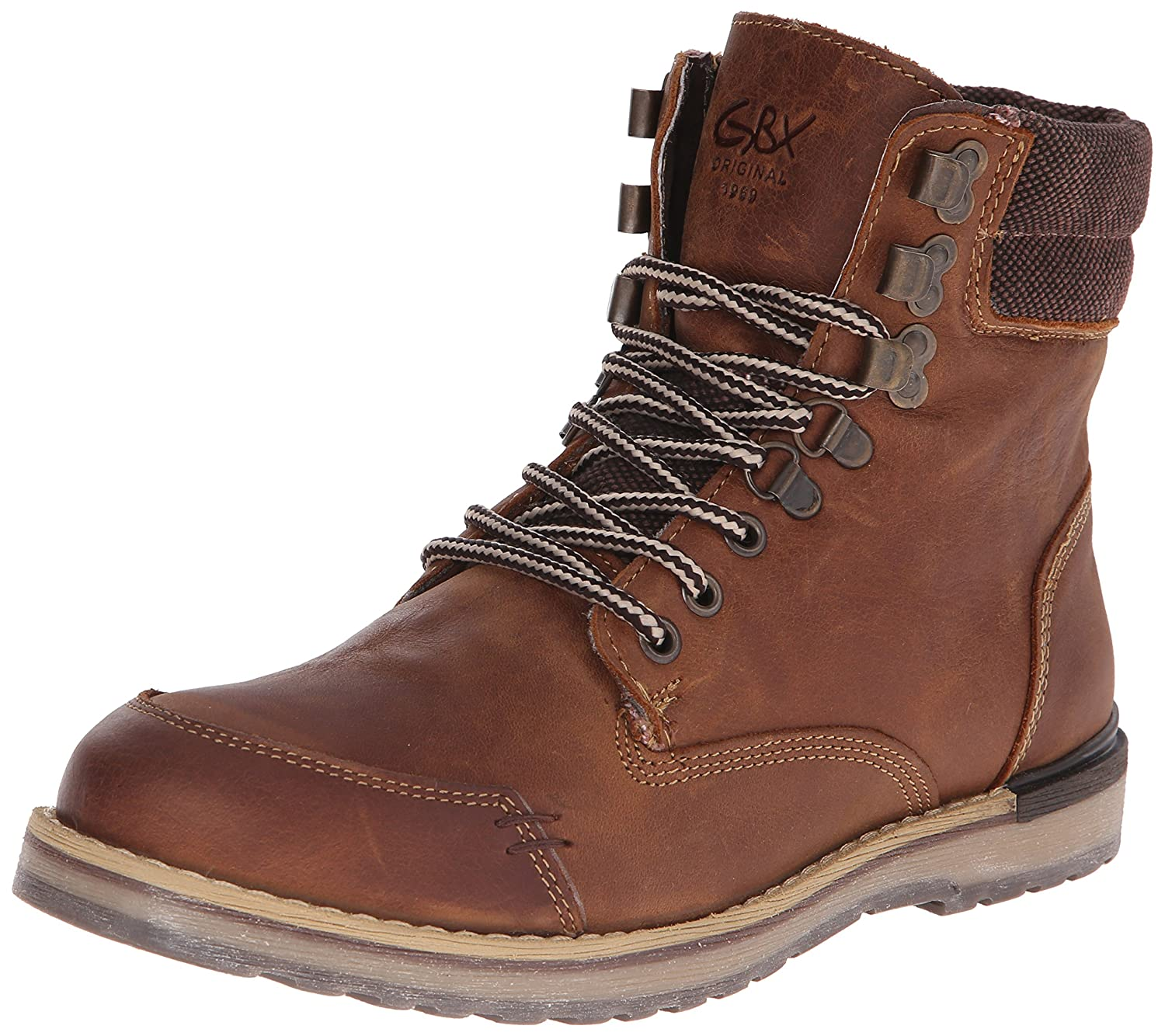 a785501bef6 GBX Men's Draco Boot, Dark Brown, 7 M US: Amazon.co.uk: Shoes & Bags