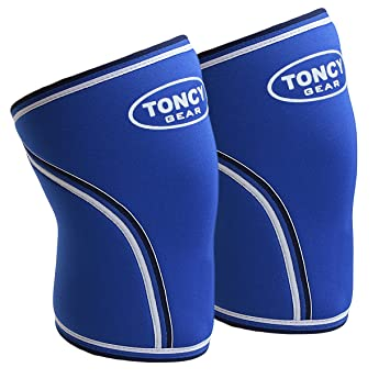962284e5f5 1 Pair Knee Sleeves-7mm Neoprene Compression Knee Support For Squatting  Workout bodybuilding Weight Lifting Powerlifting & Crossfit.