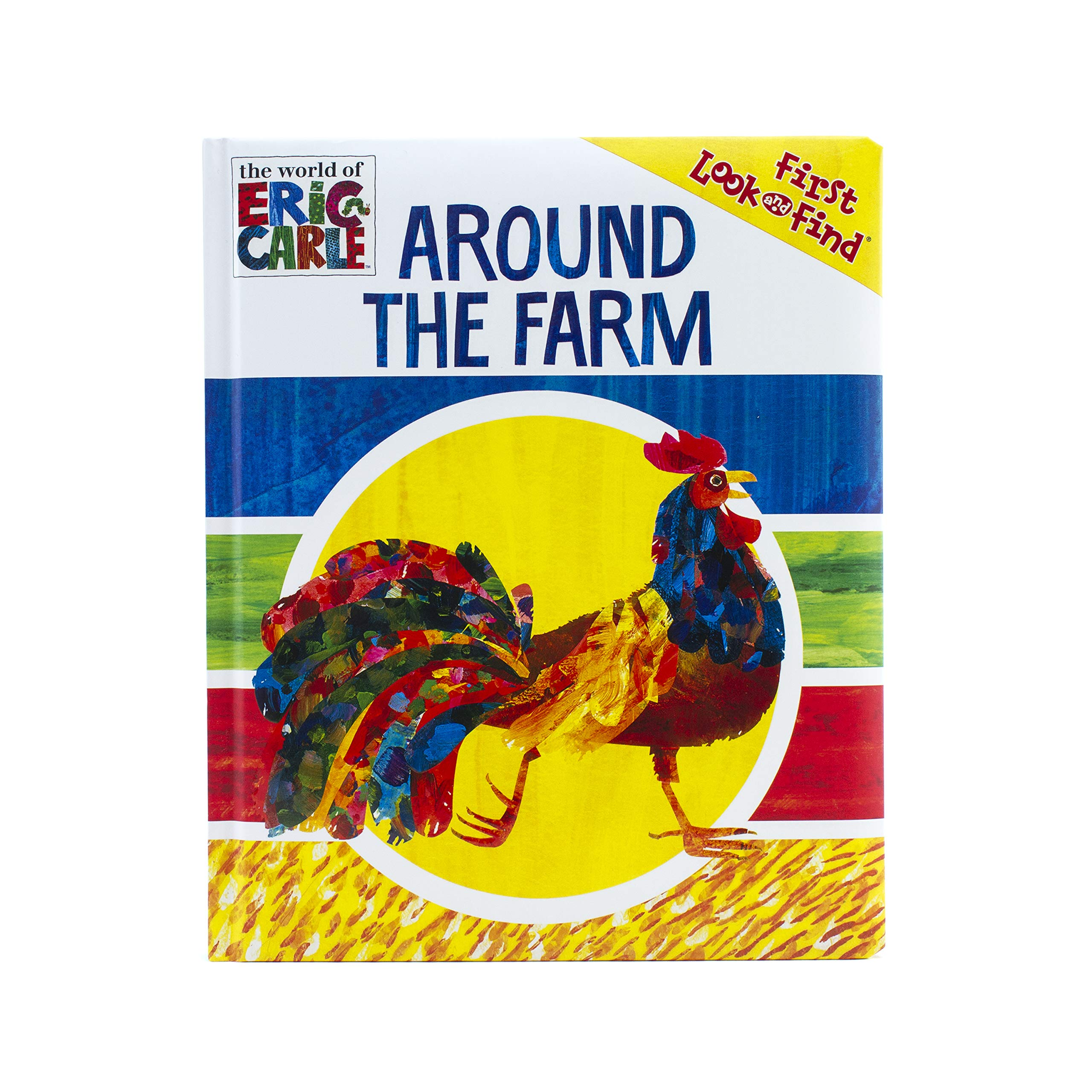 World of Eric Carle, Around The Farm My First Look And Find - PI Kids ebook