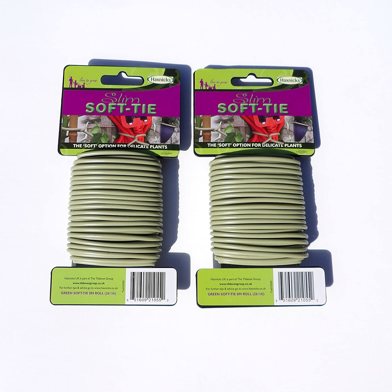 Slim Soft Tie Garden Plant Tie - 2 Pack - Each Pack 8 Metres The Gardeners Shop UK