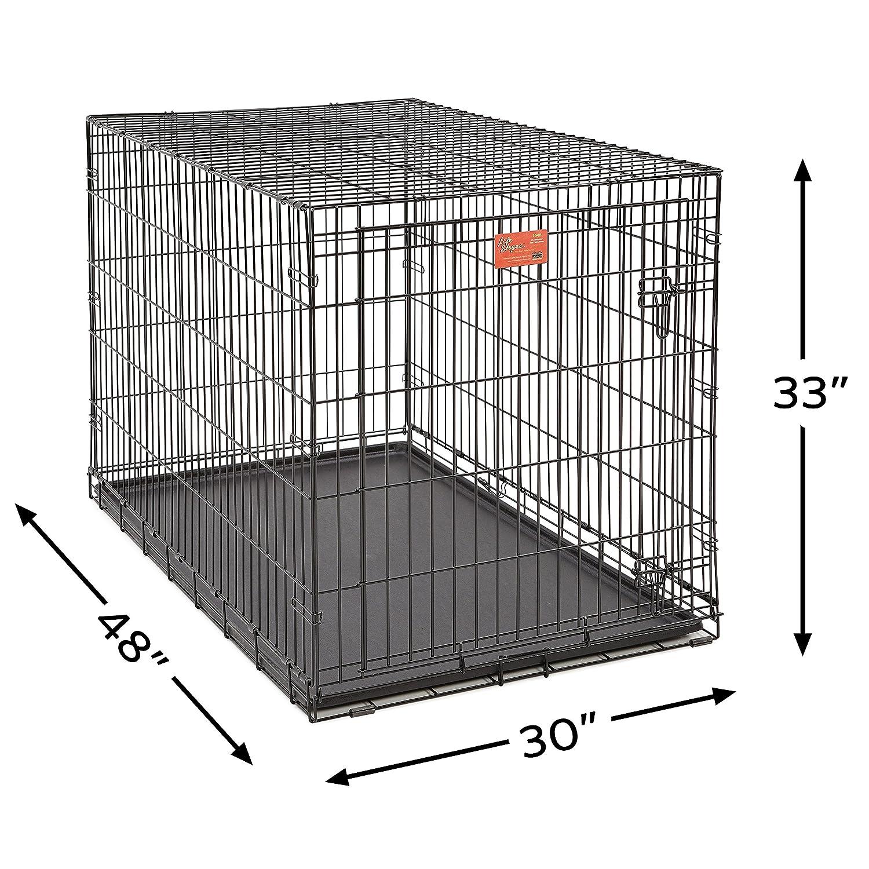 Midwest Vida etapas Plegable Metal Perro Crate: Amazon.es: Productos para mascotas