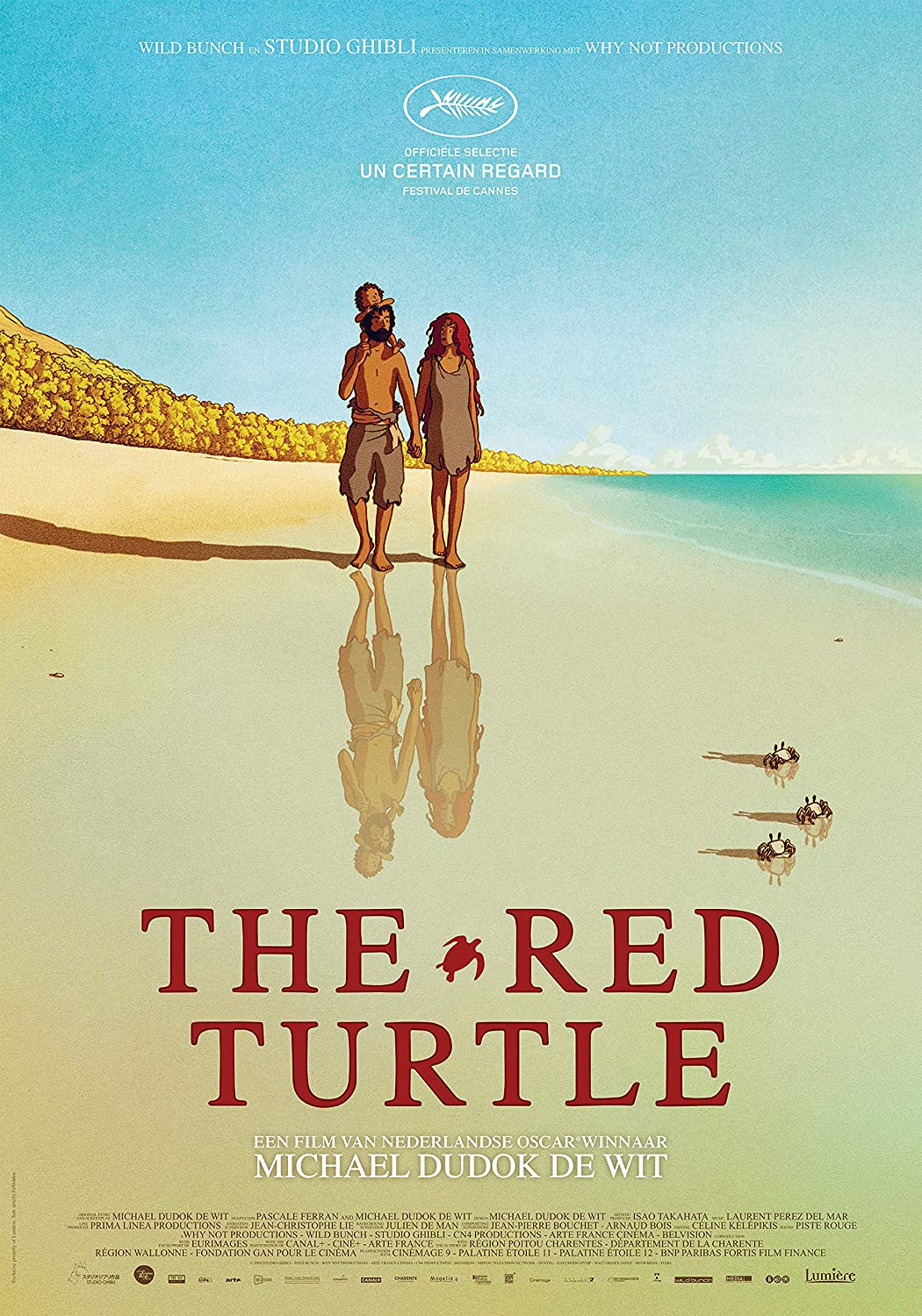 Amazon Com Newhorizon The Red Turtle Movie Poster 17 X 24 Not A Dvd Posters Prints