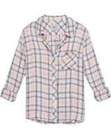 Rails Women's Hunter Plaid Button-Front Shirt with Pocket