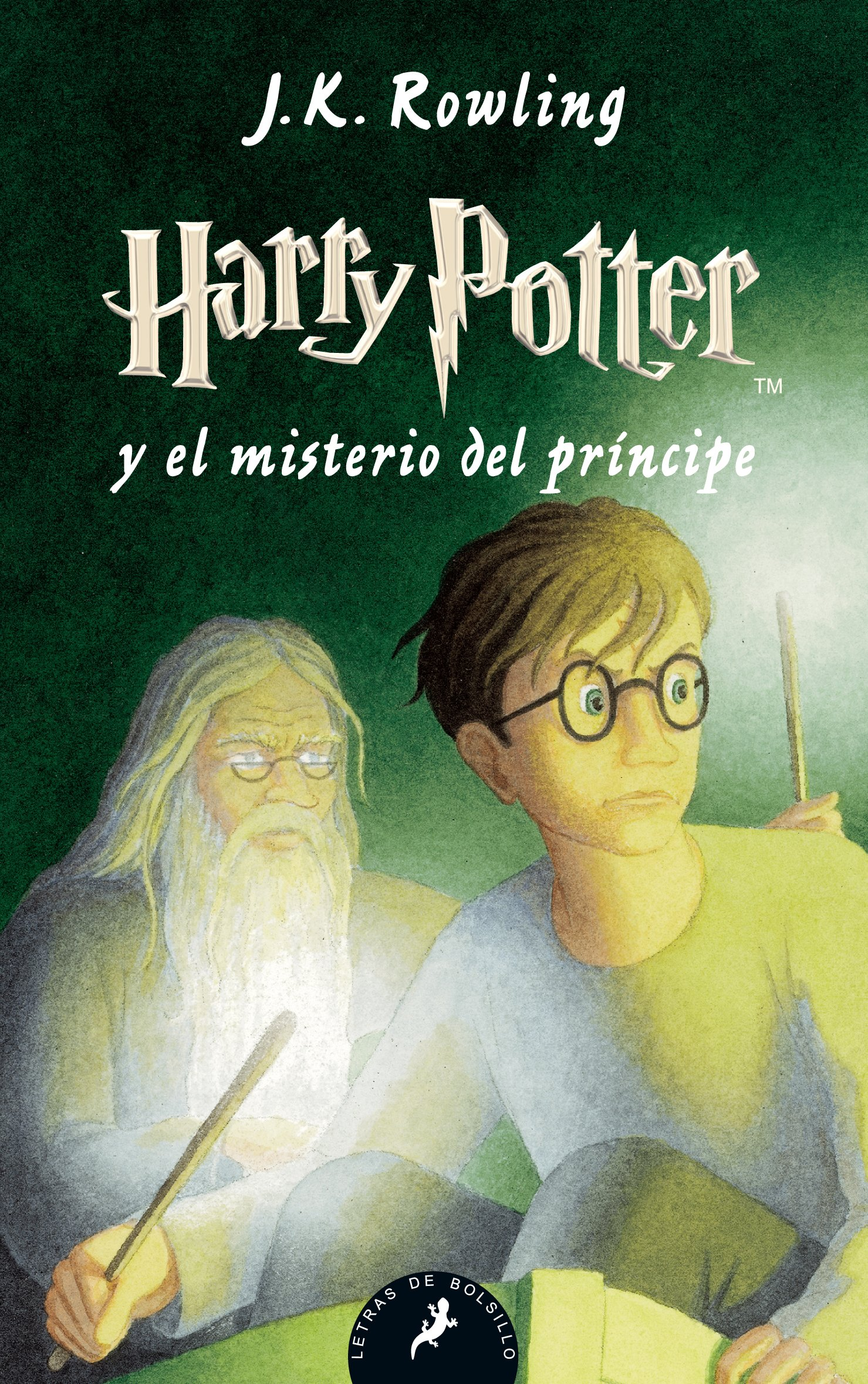 Harry Potter y el misterio del príncipe (Letras de Bolsillo) Tapa blanda – 8 jun 2011 J.K. Rowling Salamandra 8498383633 FICTION / General