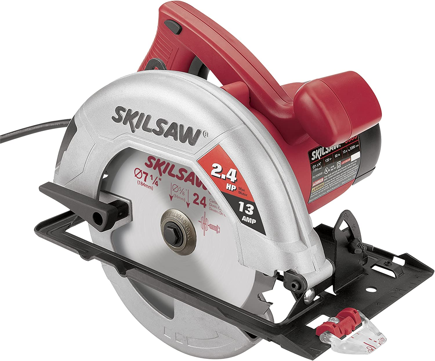 Factory-Reconditioned SKIL 5580-01-RT 7-1 4-Inch Circular Saw with Bag