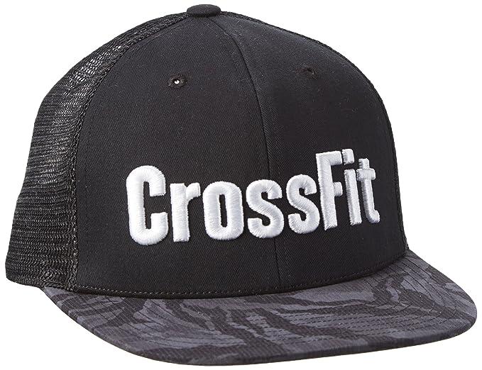 763bdbf2c4313c Reebok Crossfit 6 Panel Cap, Black, One Size: Amazon.co.uk: Sports &  Outdoors