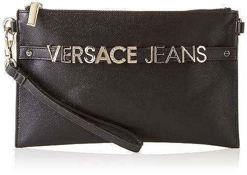 8c822b47d8 Versace Jeans Wallet Portafoglio Donna, Nero 1x16x25.5 cm (W x H x L):  Amazon.it: Scarpe e borse
