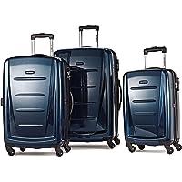 Samsonite Winfield 2 Fashion 3-Piece (20/24/28) Hardside Spinner Luggage Set (Deep Blue)