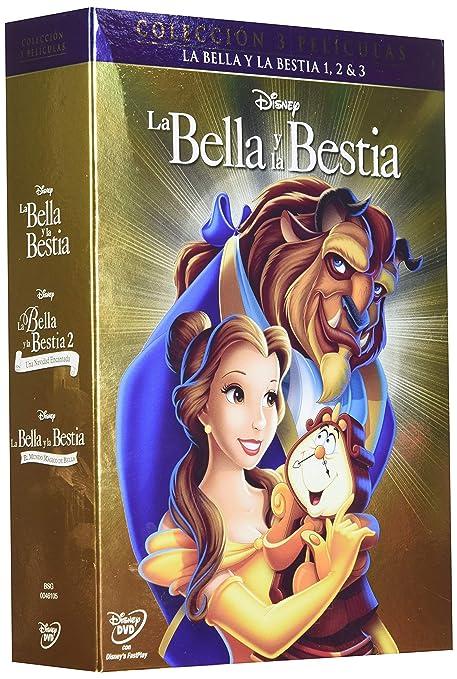 Pack Trilogia Clasicos Bella y Bestia [DVD]: Amazon.es: Cine y ...