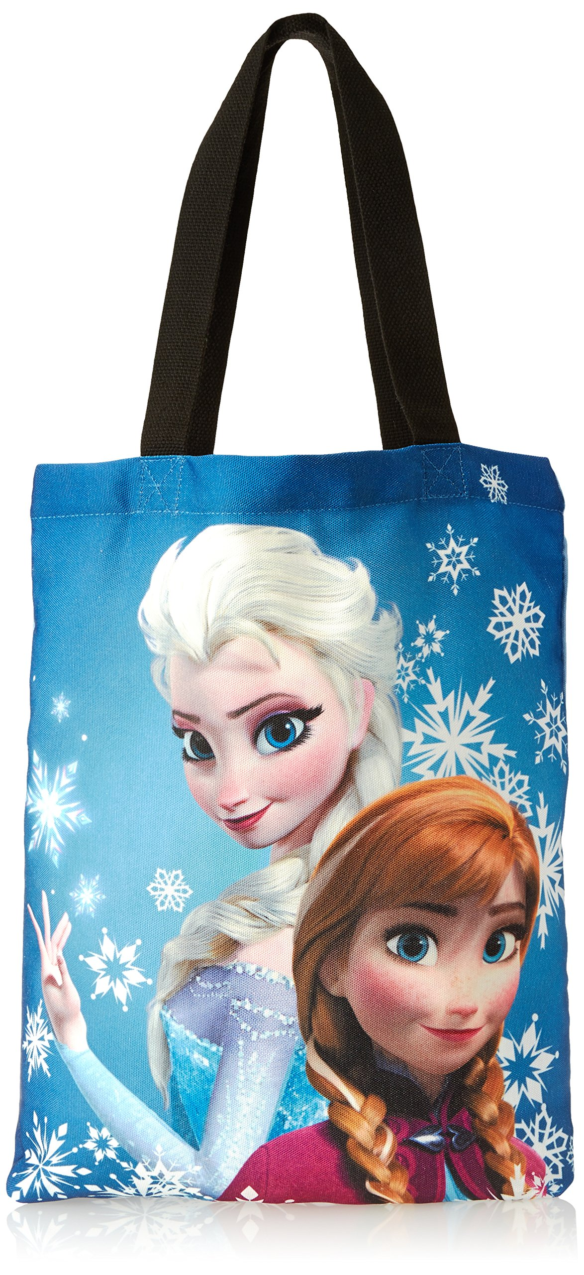 Concept One Handbags Frozen Anna and Elsa Sublimation Print Shoulder Bag, Royal, One Size by Concept One Handbags (Image #1)