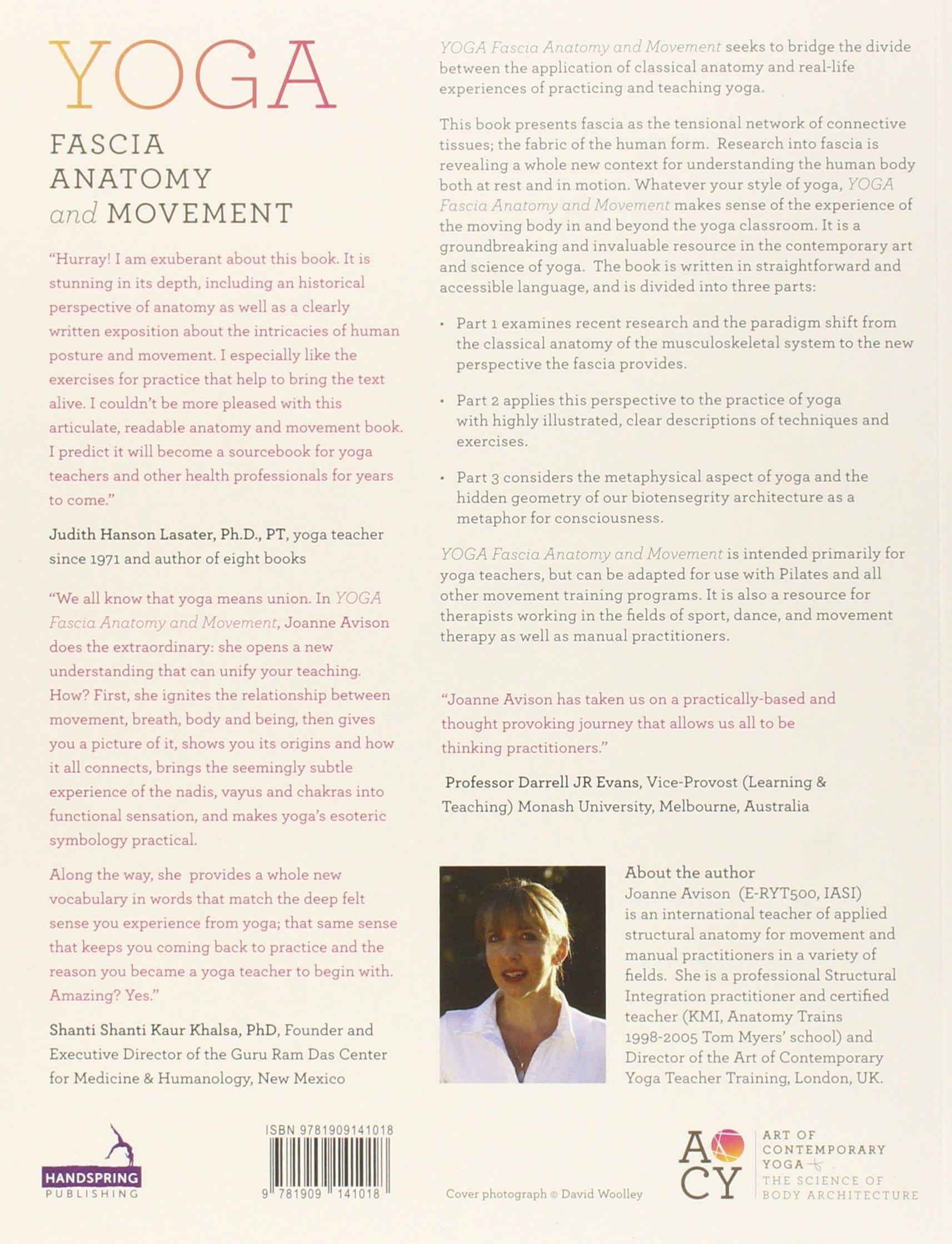 Yoga: Fascia, Anatomy and Movement: Amazon.co.uk: J. Avison: Books