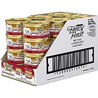 Fancy Feast Gravy Lovers Beef Wet Cat Food, Adult, 24 Can, 24X85g