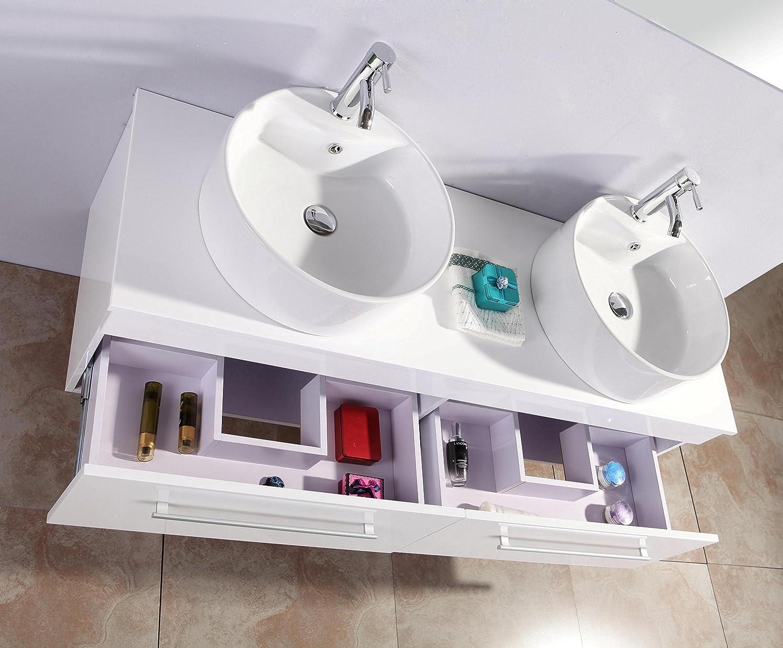 Mobili per bagno amazon great mobile bagno bianco economico da cm lavabo specchio e luce with - Lavabo cucina moderno ...