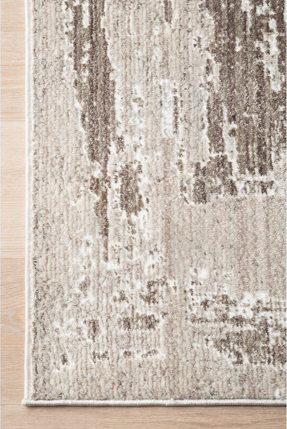 Nuloom Visconti Abstract Area Rug 6 7 X 9 Light Brown Furniture Decor
