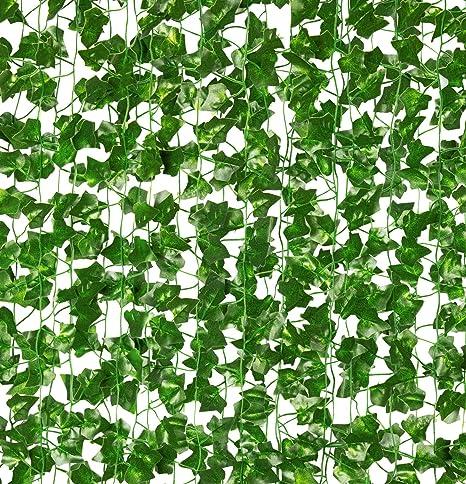 Artificial Hanging Plant Wedding Part Decor Fake Vine Ivy Leaf Greenery Garland
