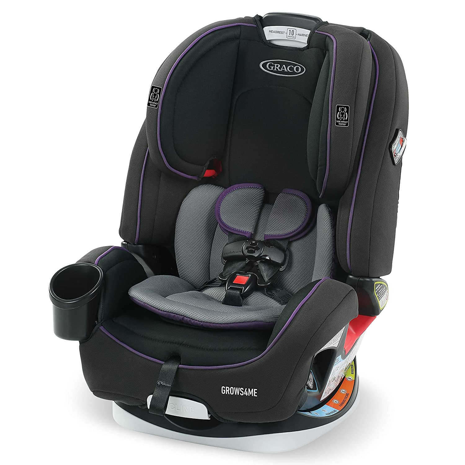 Graco Grows4Me 4 in 1 Car Seat Infant to Toddler Car Seat with 4 Modes