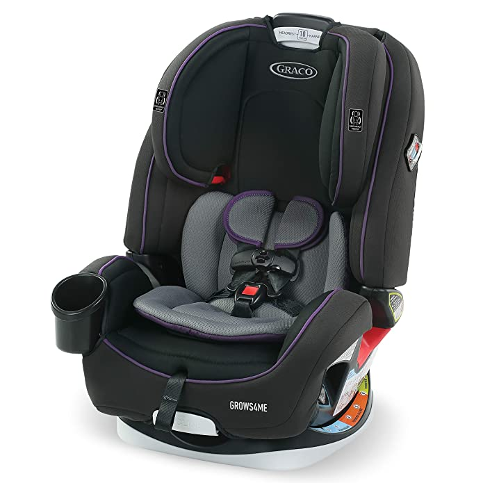 Graco Grows4Me 4-in-1 Convertible Car Seat - Gray