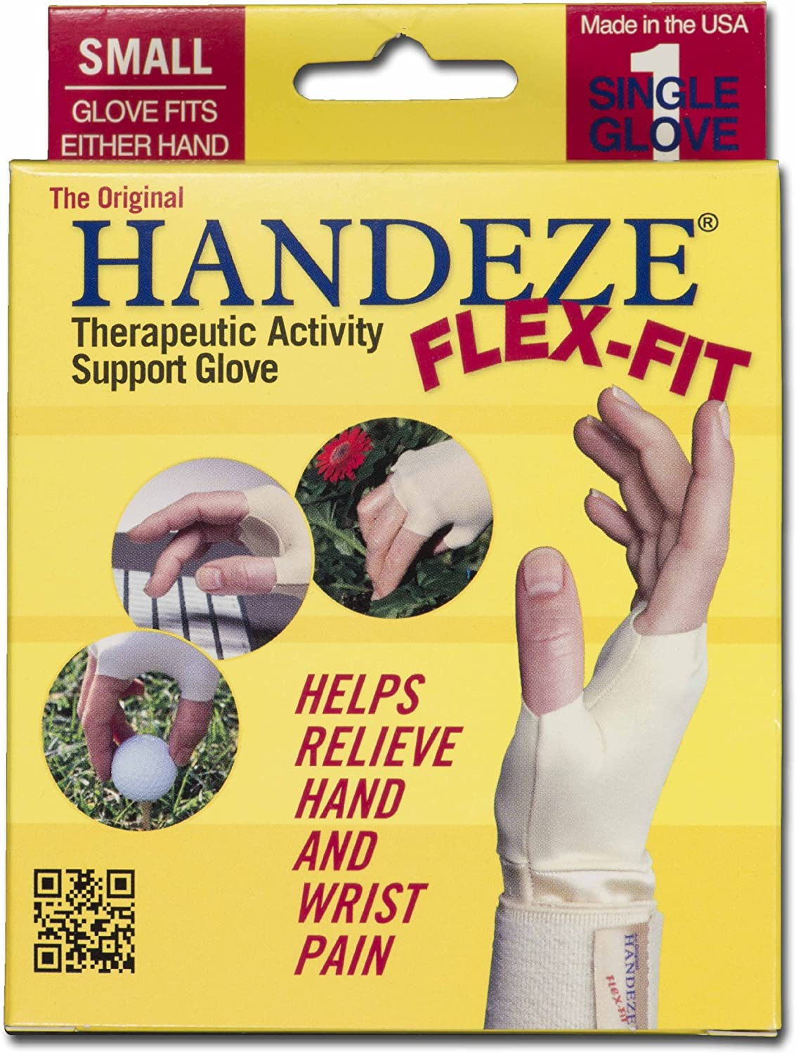 HandEze Therapeutic Glove Carpal Tunnel Select Sizes